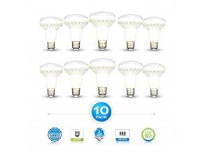 E27 LED Žárovka 10W, R80 (Barva světla Neutrální bílá)